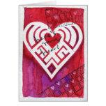 Aquí está mi tarjeta del día de San Valentín de la