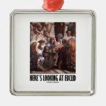 Aquí está mirando Euclid (la pintura del humor del Ornamentos De Reyes