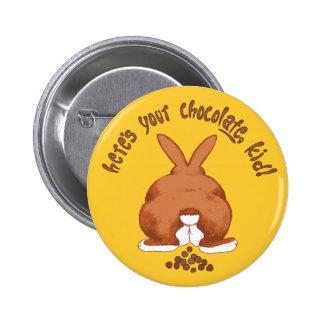 Aquí está su botón del chocolate