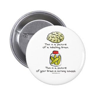 Aquí está su cerebro en escuela de enfermería pins