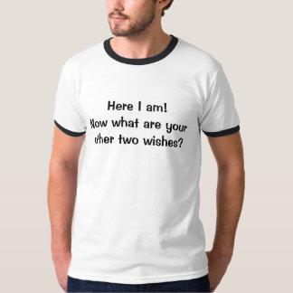 ¡Aquí estoy! ¿Ahora cuáles son sus otros dos Camisas