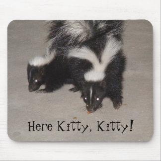 ¡Aquí gatito gatito Tapete De Raton