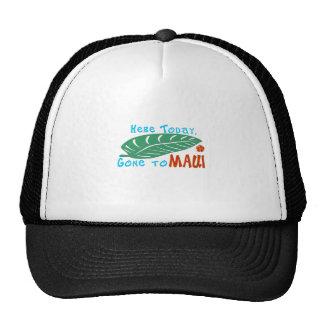 Aquí ido hoy a la camiseta de Maui Gorros