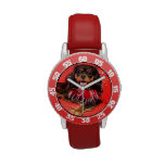 ¡Aquí me está mirando! Rey arrogante Charles Watch Reloj De Mano