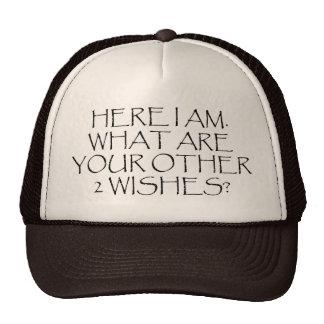 ¿Aquí soy cuáles son sus otros deseos Gorras