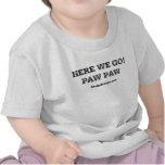 Aquí vamos camiseta del niño