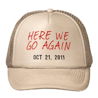 Aquí vamos otra vez gorras de camionero