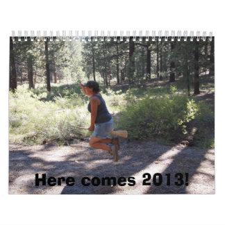 ¡Aquí viene 2013! Calendarios