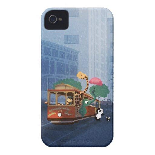 Aquí viene la lluvia Case-Mate iPhone 4 carcasa