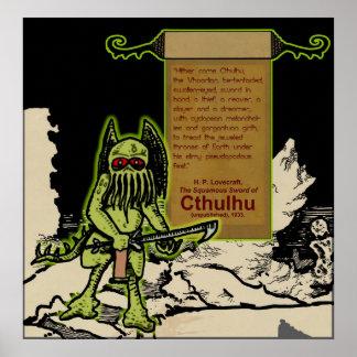 Aquí vino Cthulhu… Poster