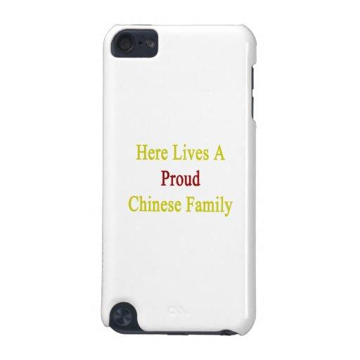 Aquí vive una familia china orgullosa