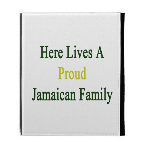 Aquí vive una familia jamaicana orgullosa
