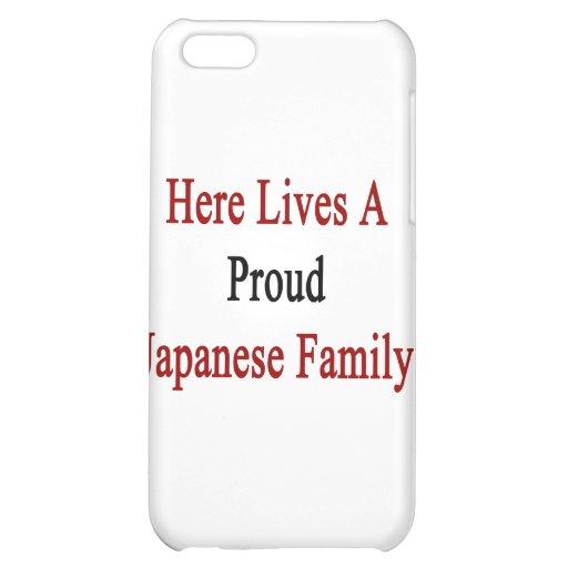 Aquí vive una familia japonesa orgullosa