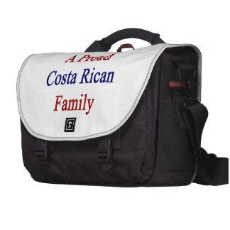 Aquí vive una familia orgullosa de Rican de la cos Bolsas De Ordenador