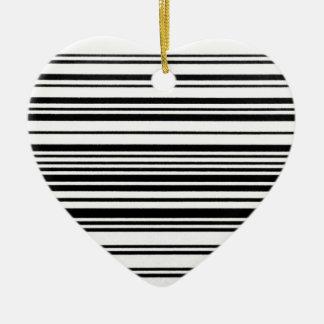 Aquí y ahora adorno navideño de cerámica en forma de corazón