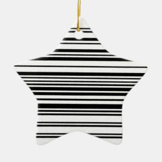 Aquí y ahora adorno navideño de cerámica en forma de estrella
