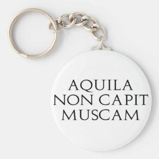 Aquila no Capit Muscam Llavero Redondo Tipo Pin
