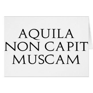Aquila Non Capit Muscam Cards