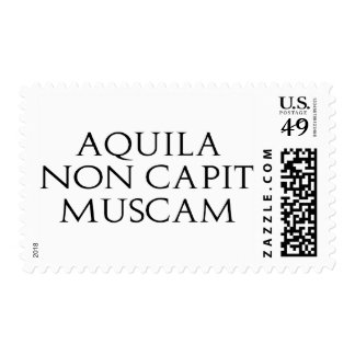 Aquila Non Capit Muscam Postage Stamps