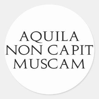 Aquila Non Capit Muscam Stickers