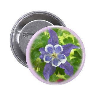 Aquilegia Columbine Flower Button