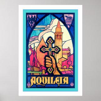 Aquileia ~ Vintage Travel Poster