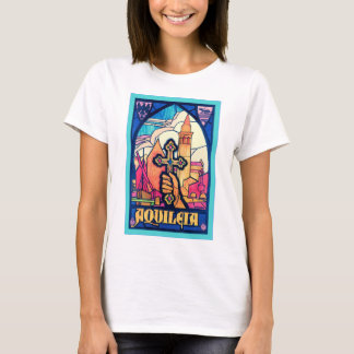Aquileia ~ Vintage Travel Poster. T-Shirt