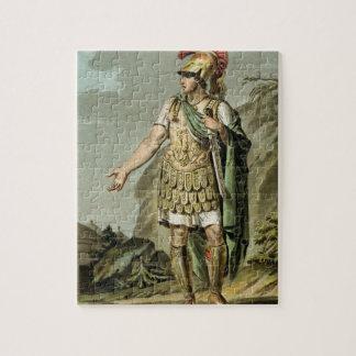 Aquiles en la armadura, traje para 'Iphigenia en A Puzzle Con Fotos