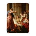 Aquiles en la corte de rey Lycomedes con su D Imán