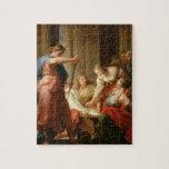 Aquiles en la corte de rey Lycomedes con su D Rompecabezas Con Fotos