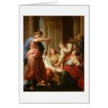 Aquiles en la corte de rey Lycomedes con su D Felicitación