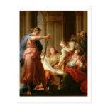 Aquiles en la corte de rey Lycomedes con su D Postales