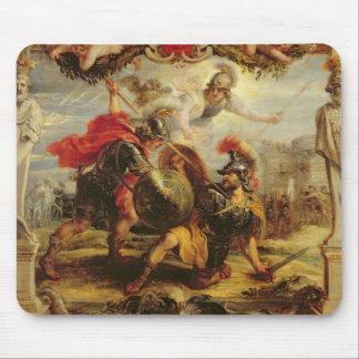 Aquiles que derrota a Hector, 1630-32 Alfombrilla De Ratón