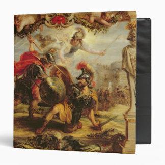 Aquiles que derrota a Hector, 1630-32