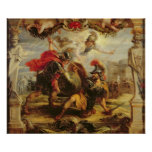 Aquiles que derrota a Hector, 1630-32 Posters