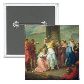 Aquiles reconoció, 1799 pin cuadrado