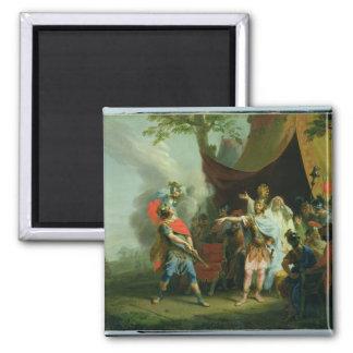 Aquiles tiene un conflicto con Agamemnon, 1776 Iman Para Frigorífico