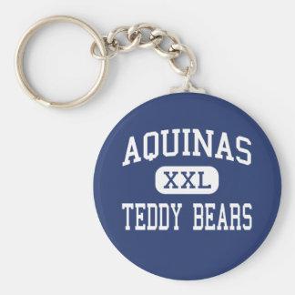 Aquinas - Teddy Bears - High - Bronx New York Key Chain