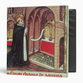 Aquinas'Libro de Horas de Alfonso el 3 Ring Binder