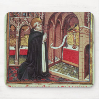 Aquinas'Libro de Horas de Alfonso el Mouse Pad