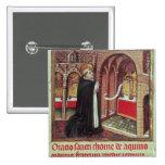Aquinas'Libro de Horas de Alfonso el Pinback Button