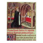 Aquinas'Libro de Horas de Alfonso el Postcard