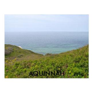AQUINNAH AND ELIZABETH ISLANDS POSTCARD