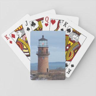 Aquinnah Light House Gay Head Playing Cards