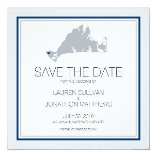 Aquinnah Martha's Vineyard | Save the Date Card