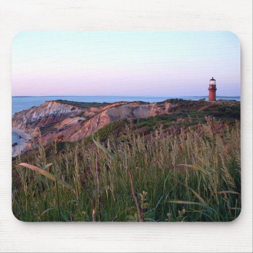 Aquinnah Sunset and Lighthouse Mousepad