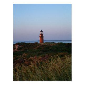 Aquinnah Sunset and Lighthouse Postcard