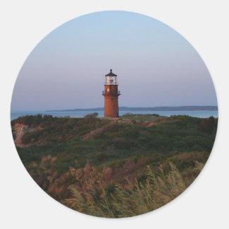Aquinnah Sunset and Lighthouse Sticker