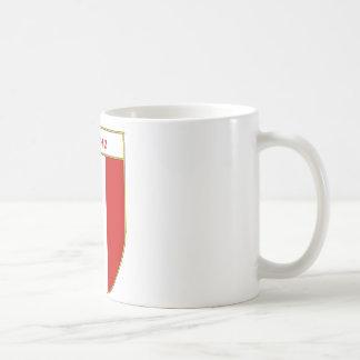 Aquino Italian Flag Shield Coffee Mug