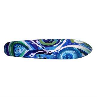 Aquis Skateboard - Old School skateboard